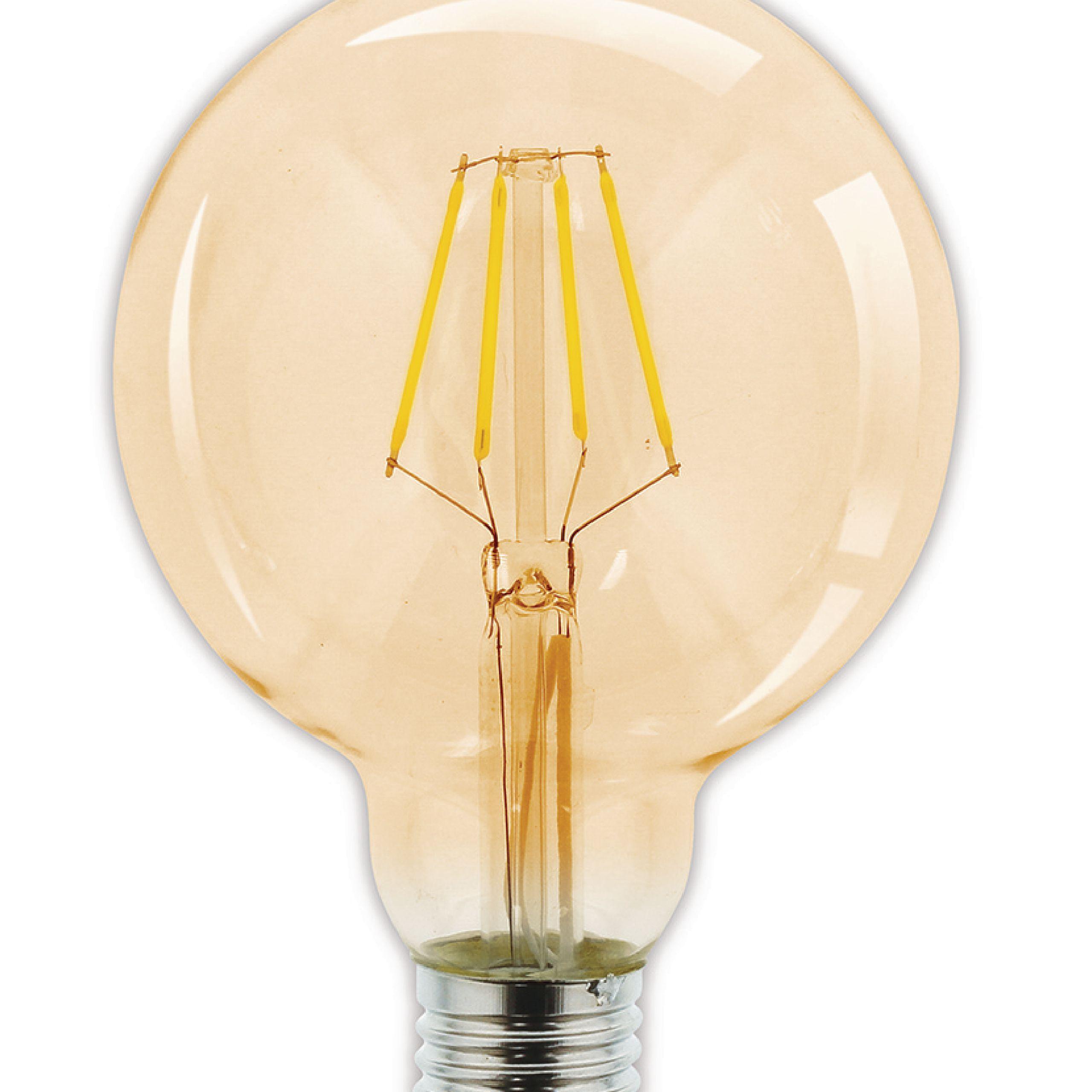 HQ LED žárovka vláknová E27 G95 2.8W 200lm 2000K (HQLFE27G95004)