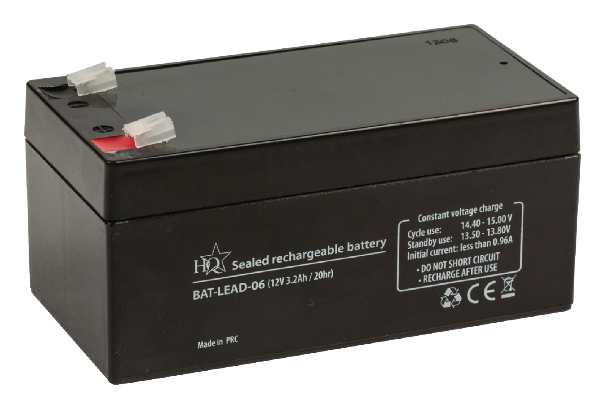 Dobíjecí Olověná Baterie 12 V 3200 mAh 134 mm x 67 mm x 61 mm