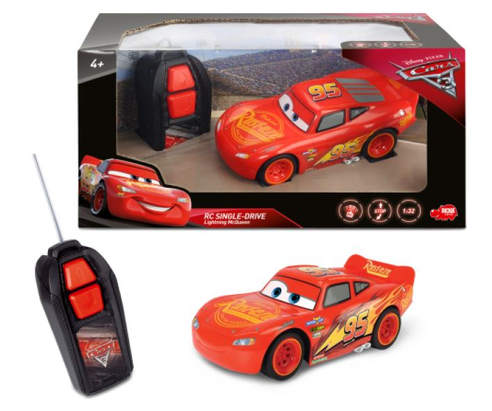 RC Cars 3 Dickie Blesk McQueen Single Drive autíčko RC model