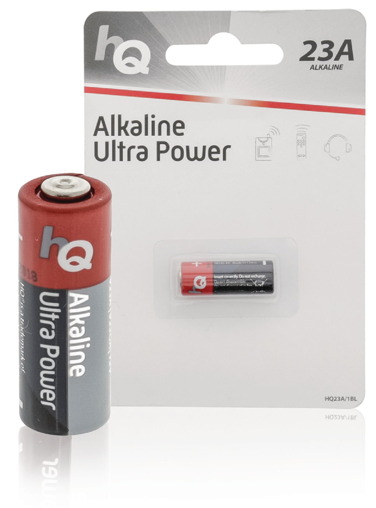 Alkalická baterie HQ Ultra Power 23A 12 V, 1ks, HQ23A/1BL