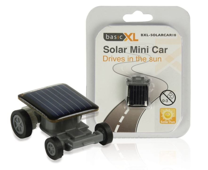 basicXL solární hračka - autíčko BXL-SOLARCAR10