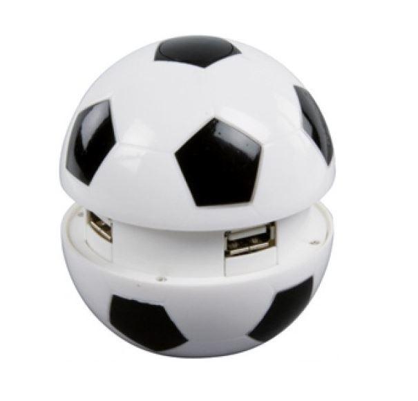 basicXL externí čtyřportový USB 2.0 HUB Fotbal BXL-USB2HUB3