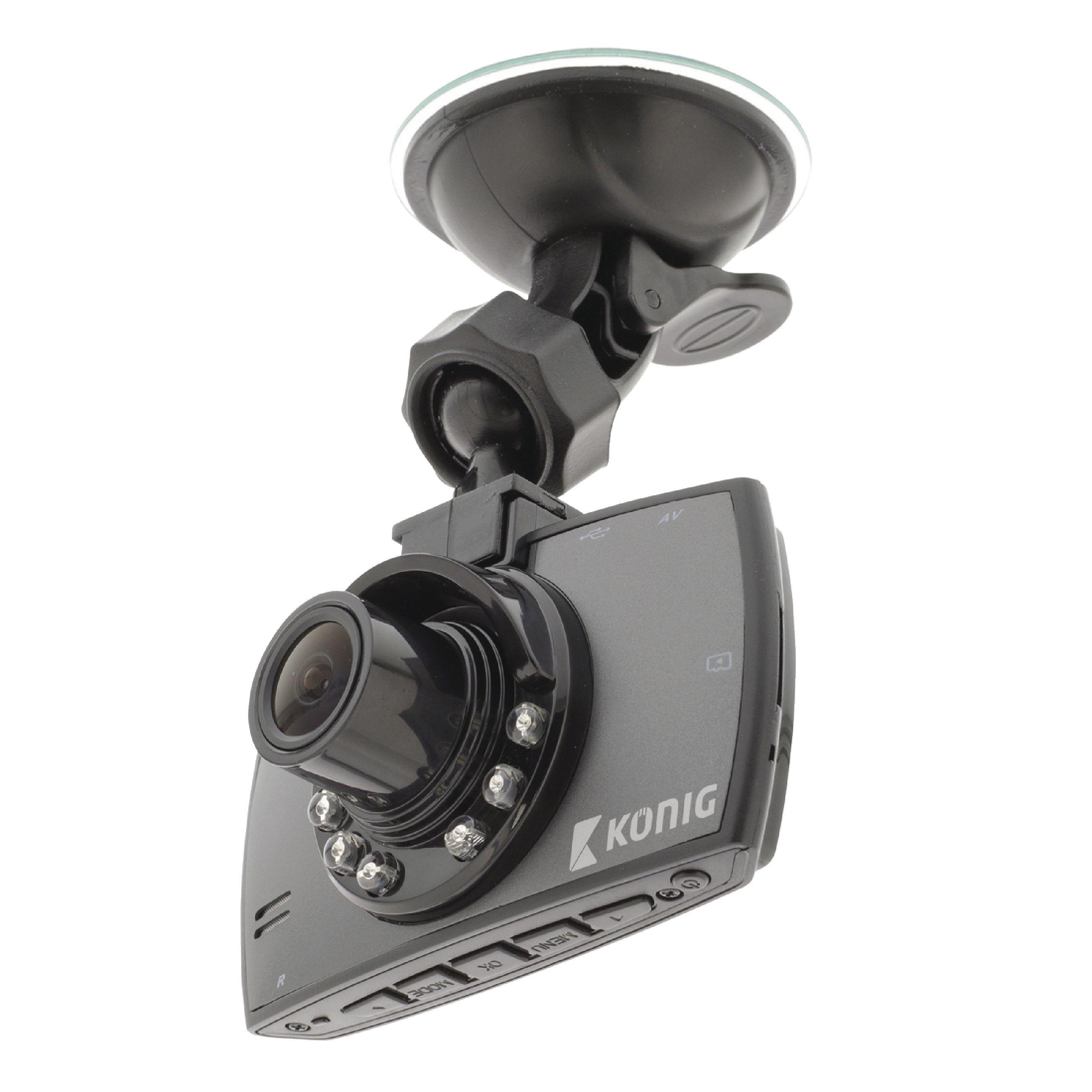 "Full HD kamera do auta, 1920x1080, 2.7"" displej, König SAS-CARCAM11"