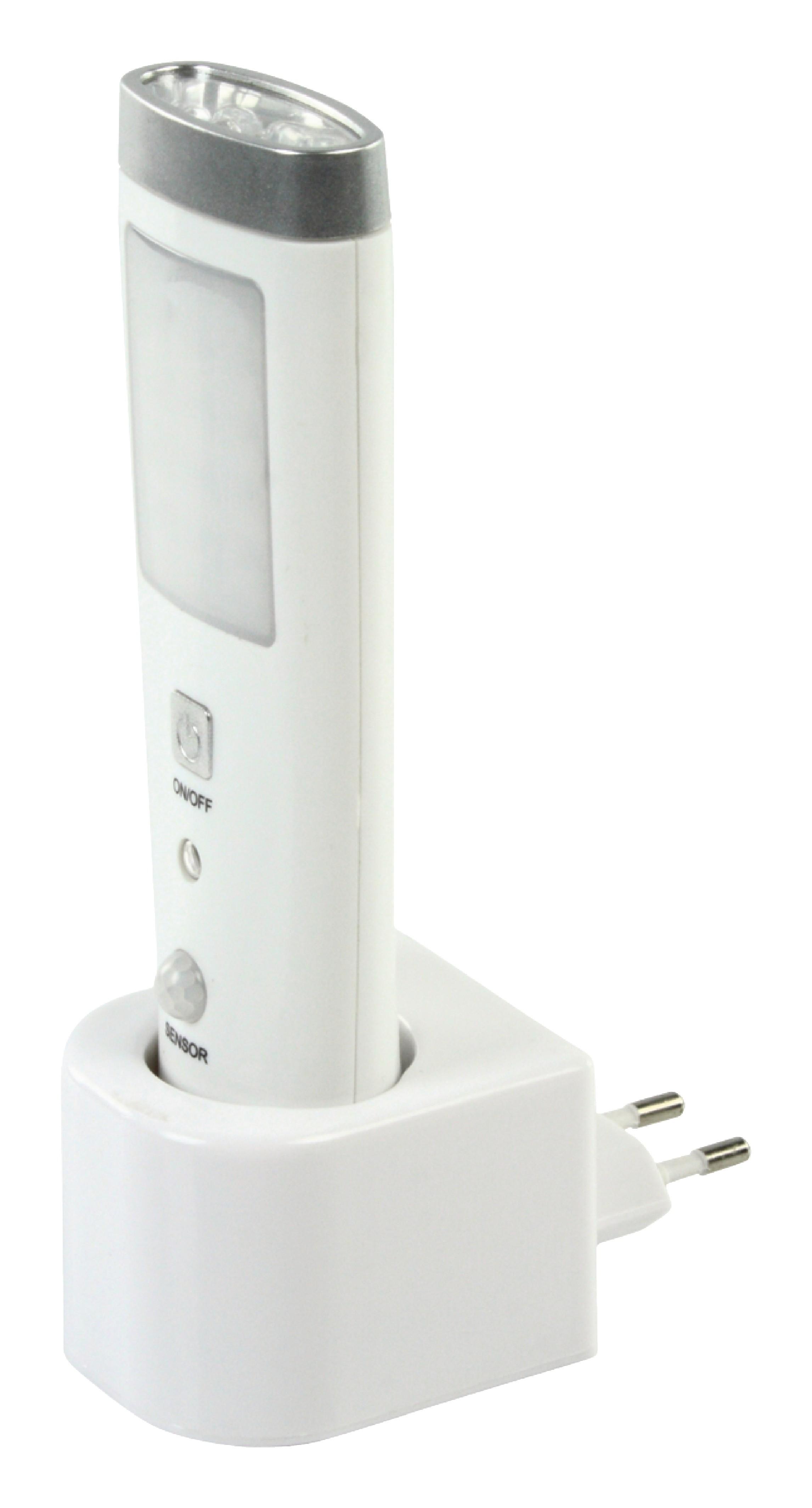 Noční LED lampička s pohybovým čidlem a svítilna HQ-NIGHT001