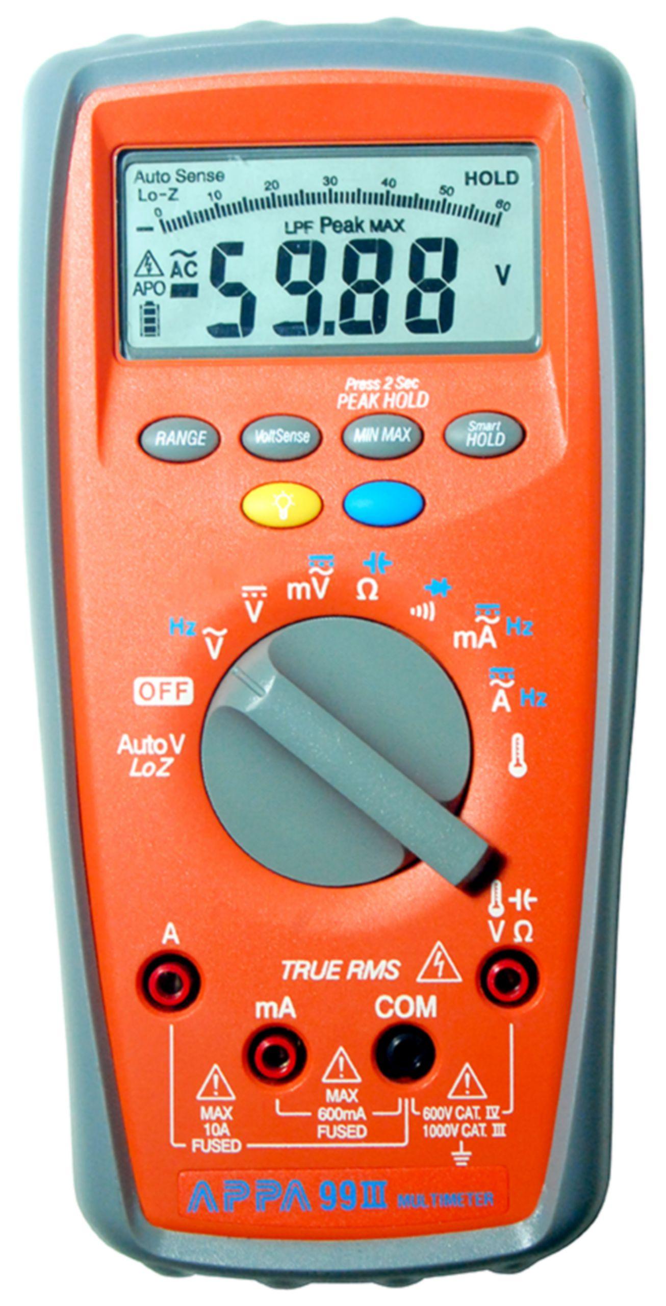 Digitální multimetr TrueRMS APPA 99III