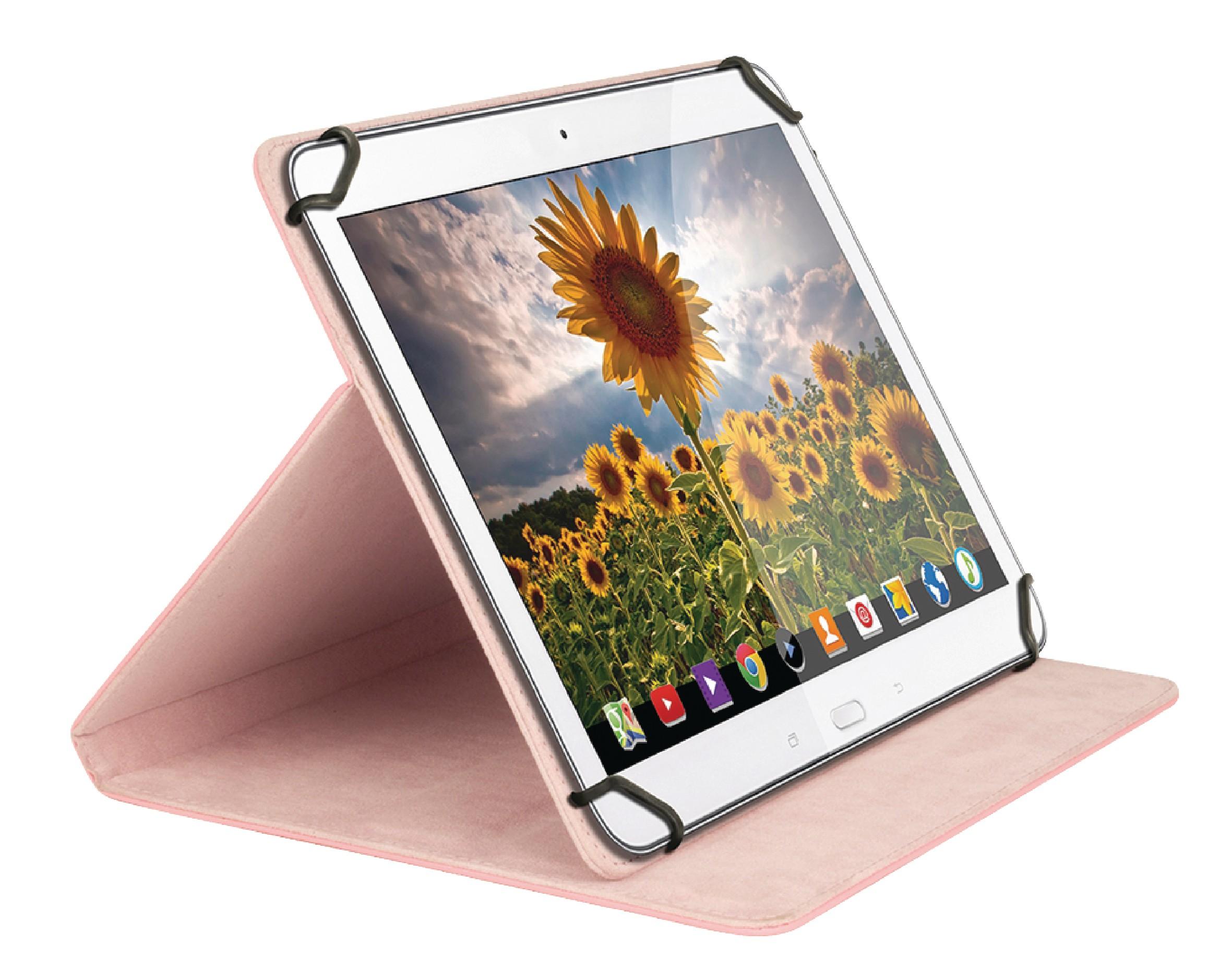 """Sweex univerzální pouzdro na tablet 10"""" růžové SA364V2"""