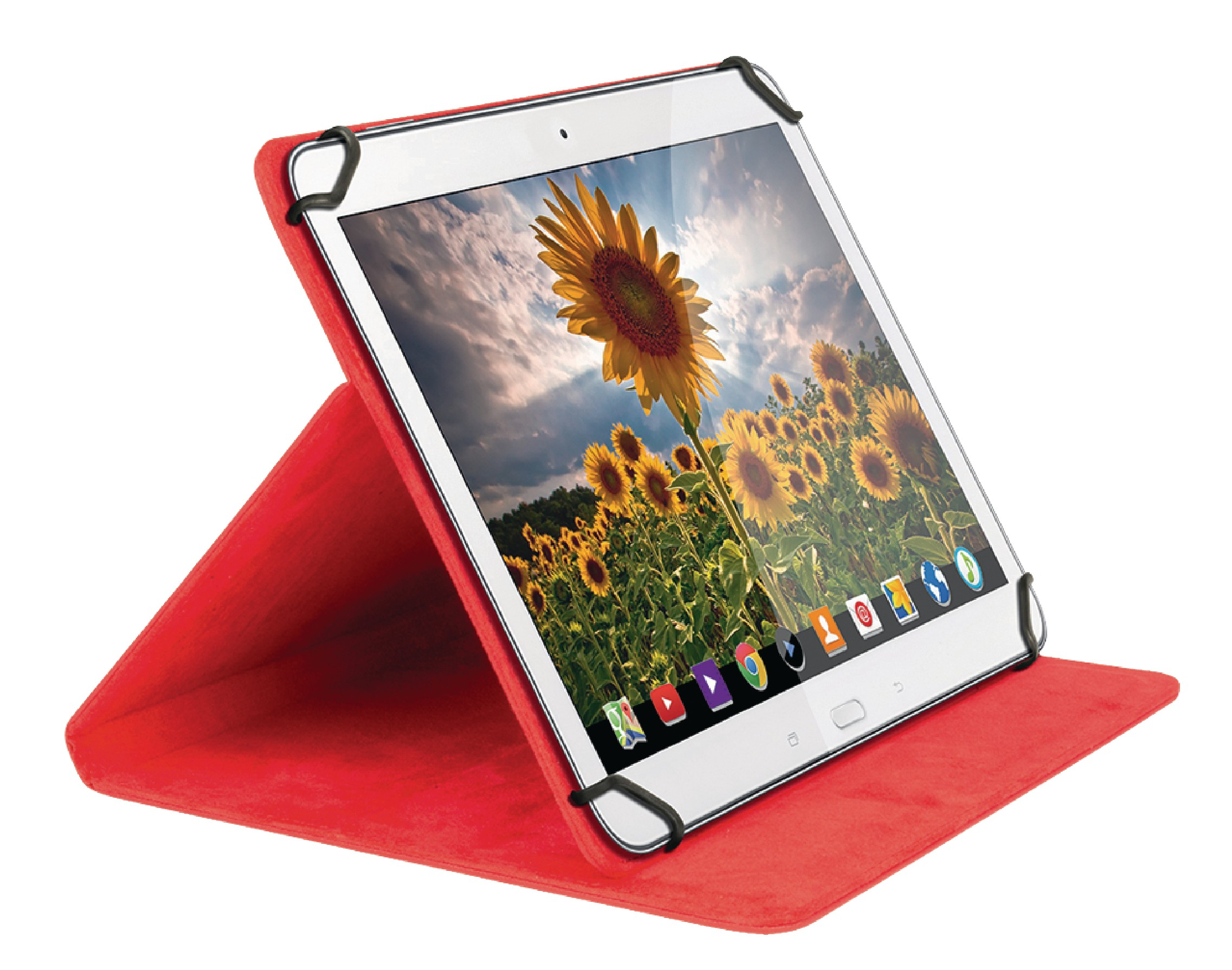 """Sweex univerzální pouzdro na tablet 10"""" červené SA362V2"""