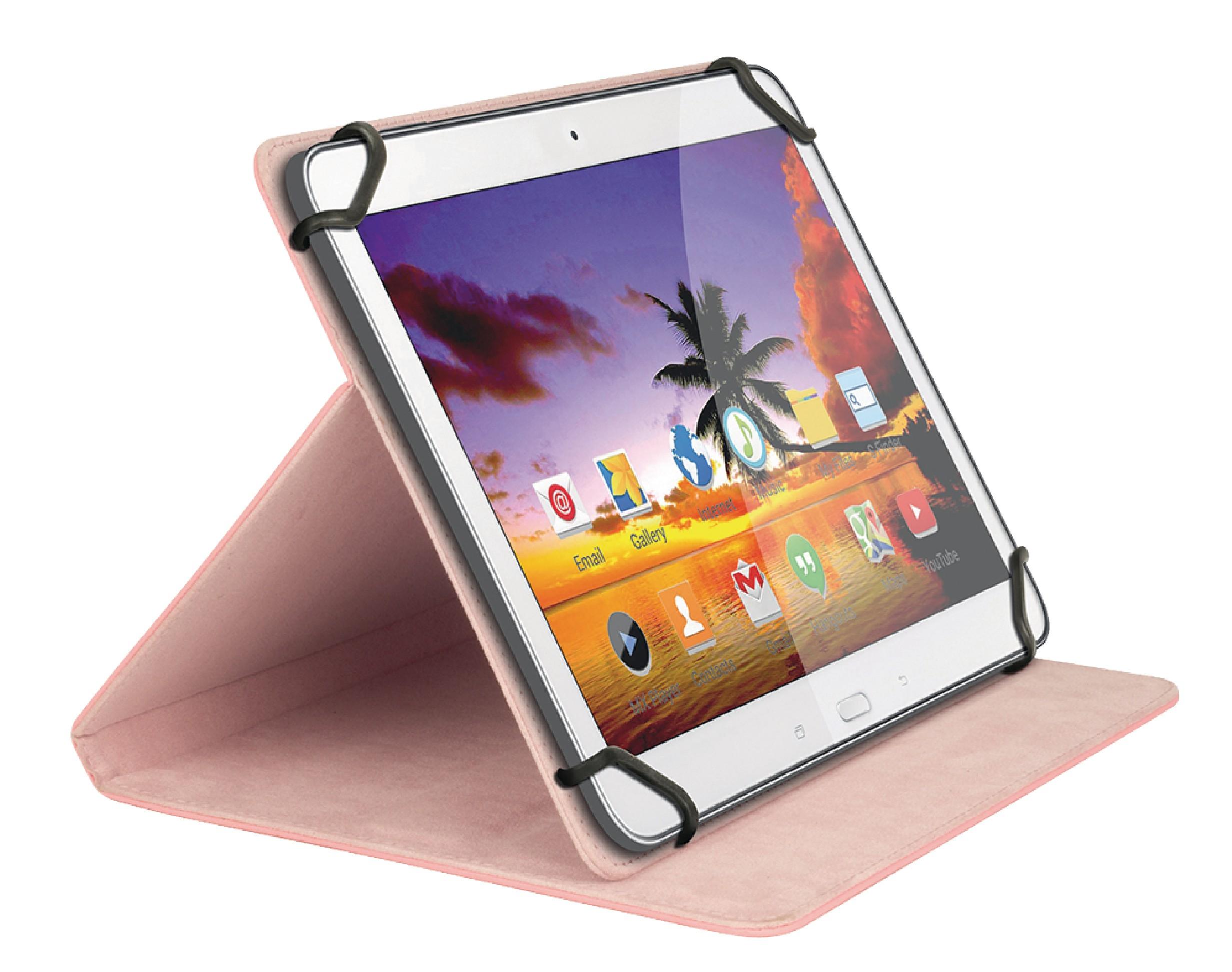 """Sweex univerzální pouzdro na tablet 8"""" růžové SA324V2"""