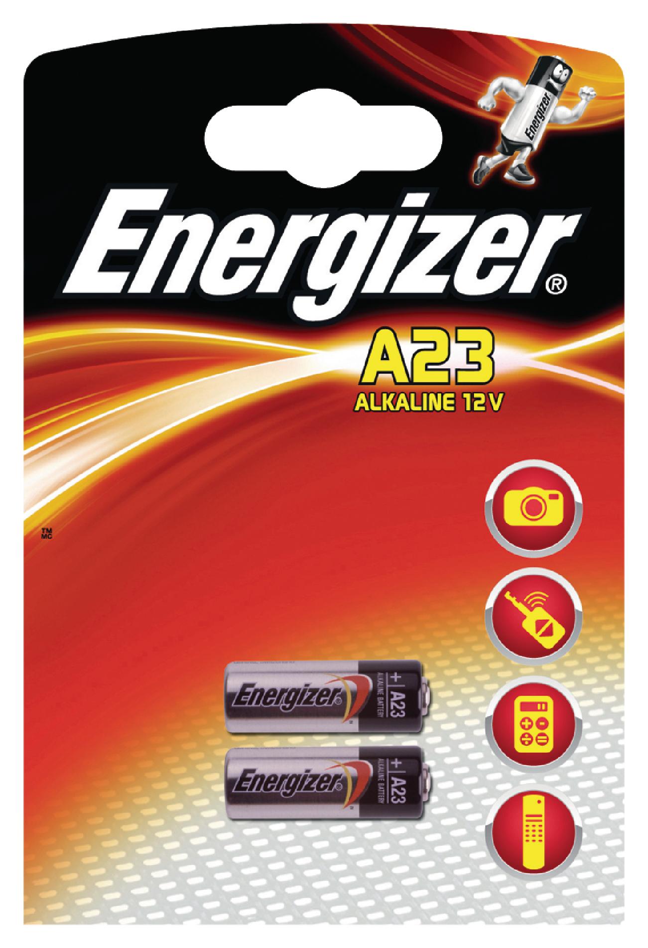 Alkalická baterie Energizer 23A 12 V - 2ks