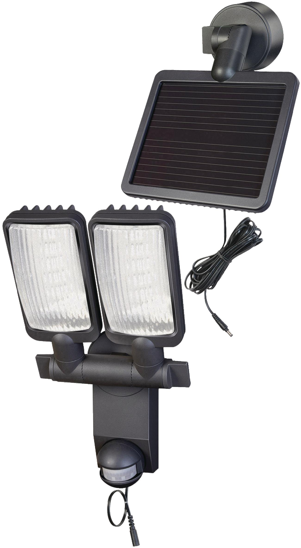 Nástěnné LED svítidlo se solárním panelem a PIR, Brennenstuhl BN-9440
