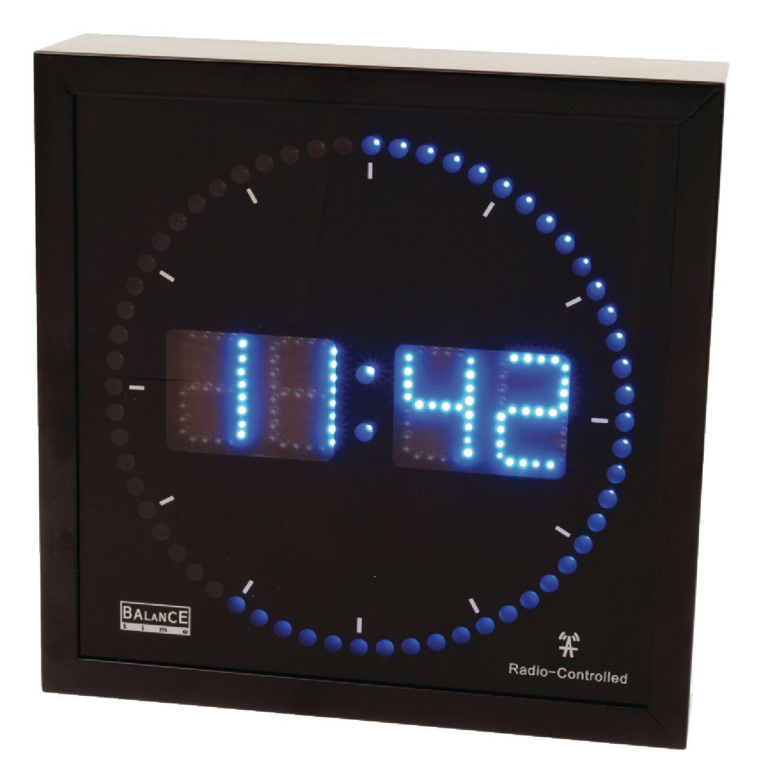 Nástěnné digitální LED hodiny Balance 456434