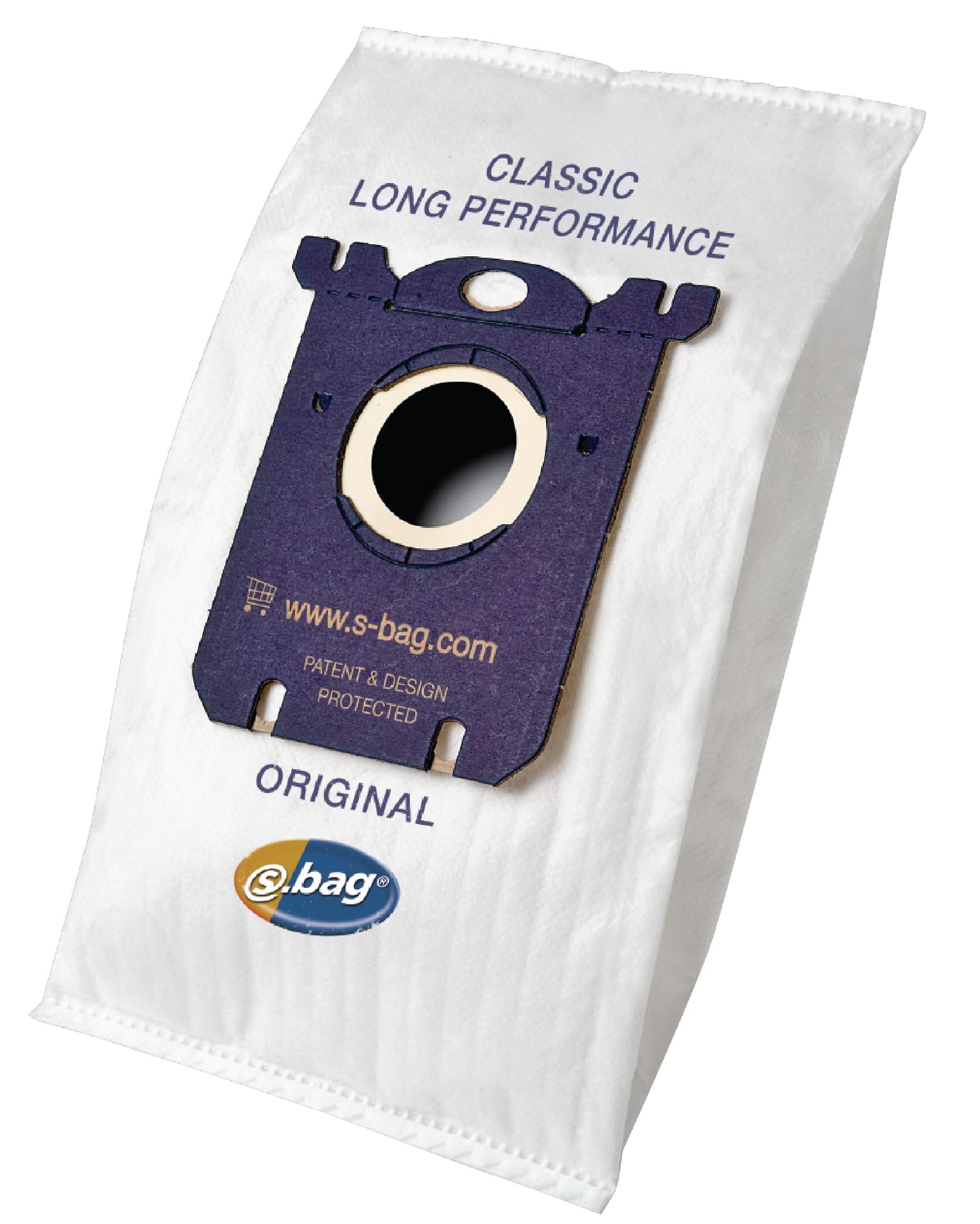Sáčky Electrolux S-Bag E201B Classic Long Performance, 4ks