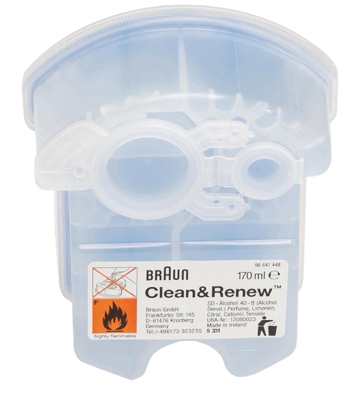 Čistící kazeta pro jednotku Clean and Charge, 4ks Braun BR-CCR4