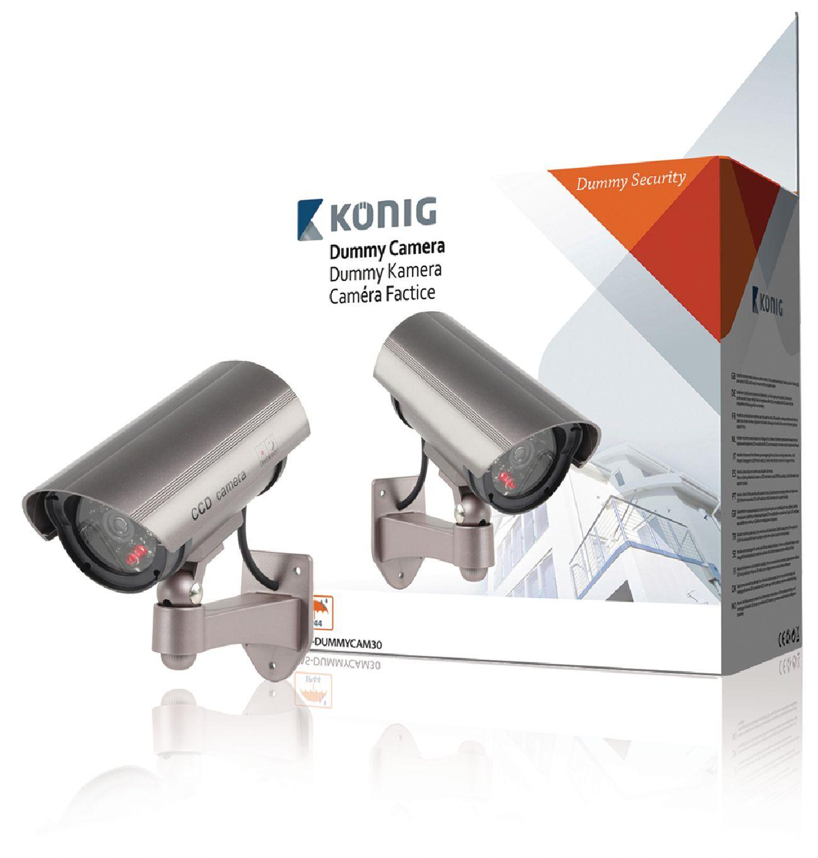 Atrapa venkovní bezpečnostní CCTV kamery.