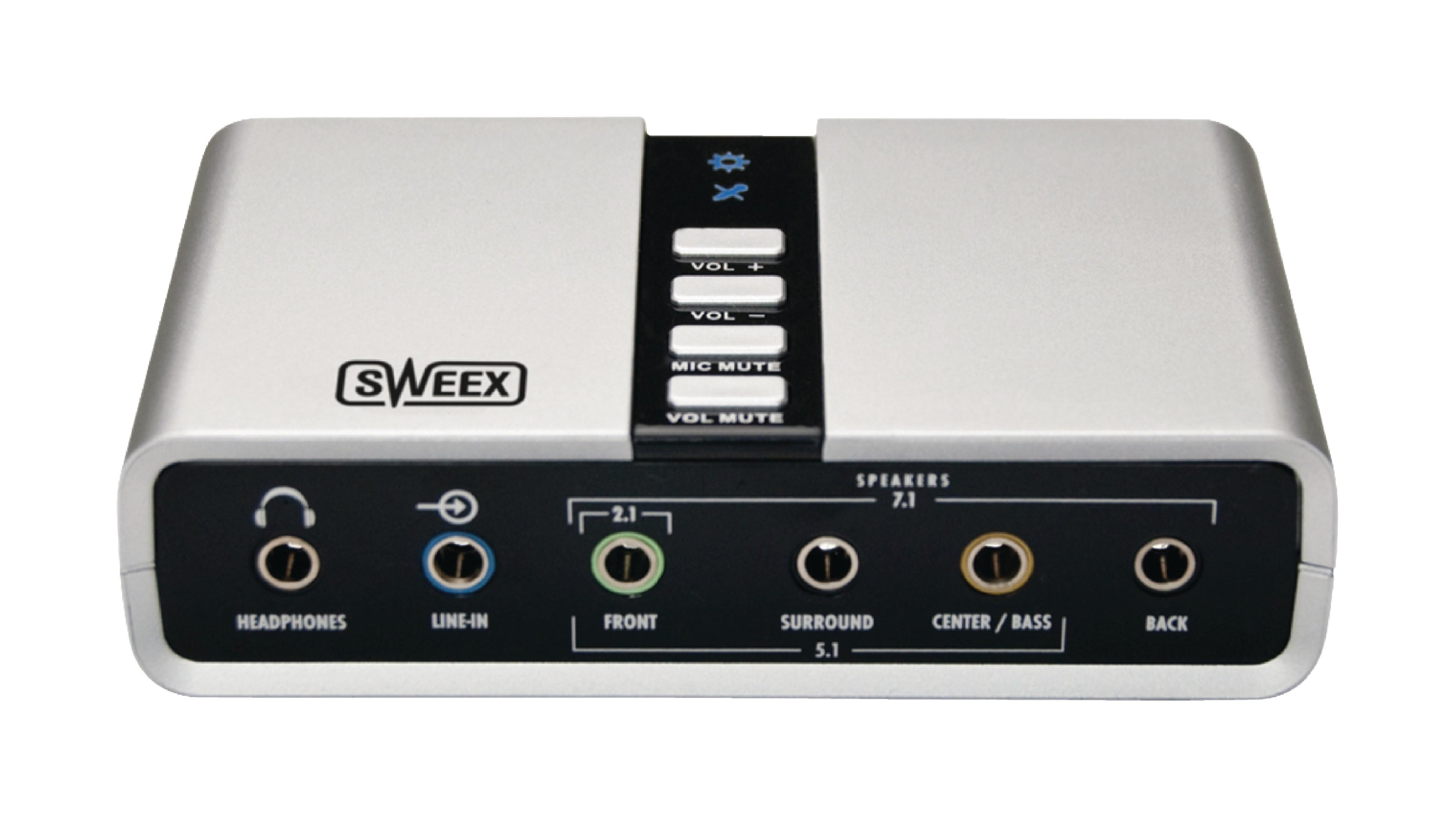 Zvuková karta USB 7.1 Sweex SC016