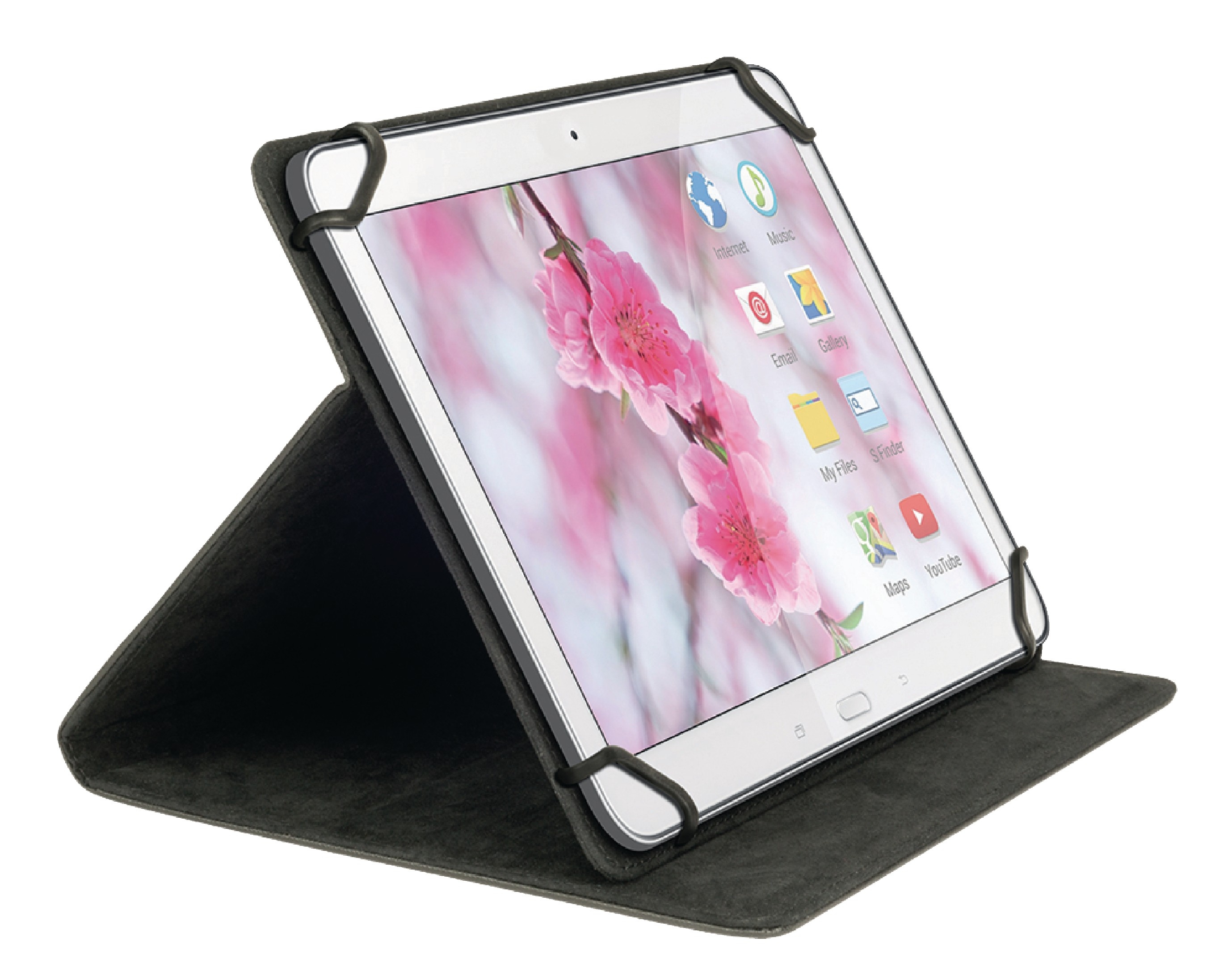 "Sweex univerzální pouzdro na tablet 7"" černé SA310V2"