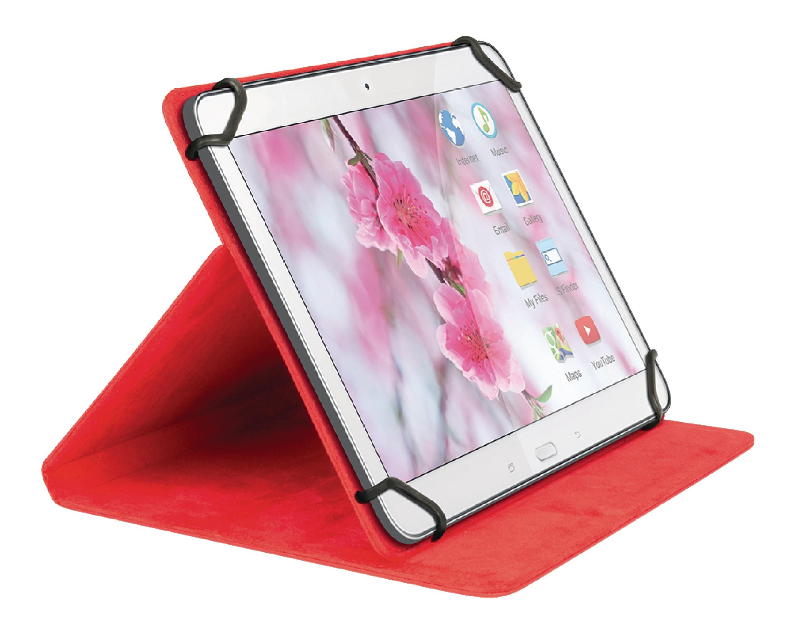 """Sweex univerzální pouzdro na tablet 7"""" červené SA312V2"""