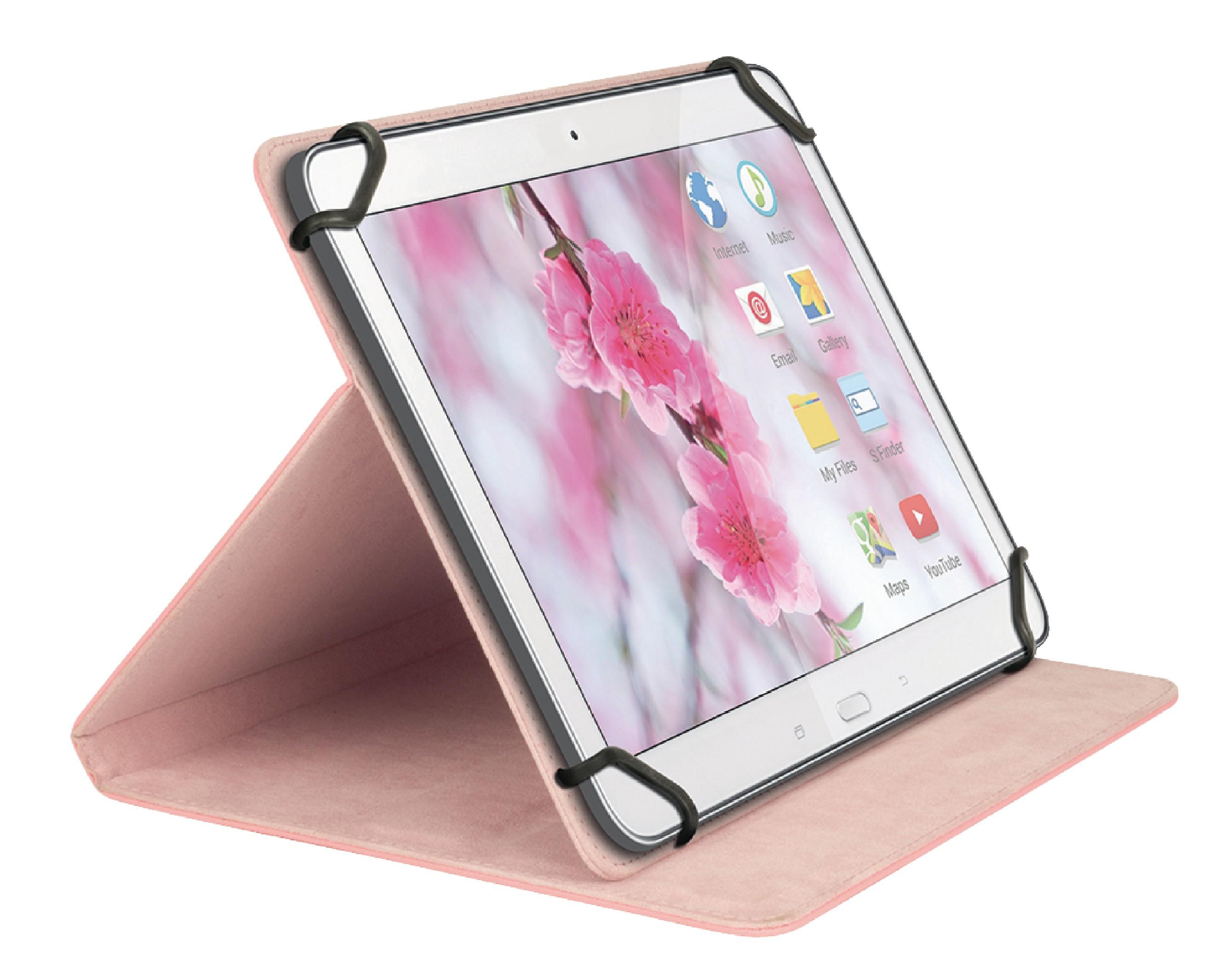 """Sweex univerzální pouzdro na tablet 7"""" růžové SA314V2"""