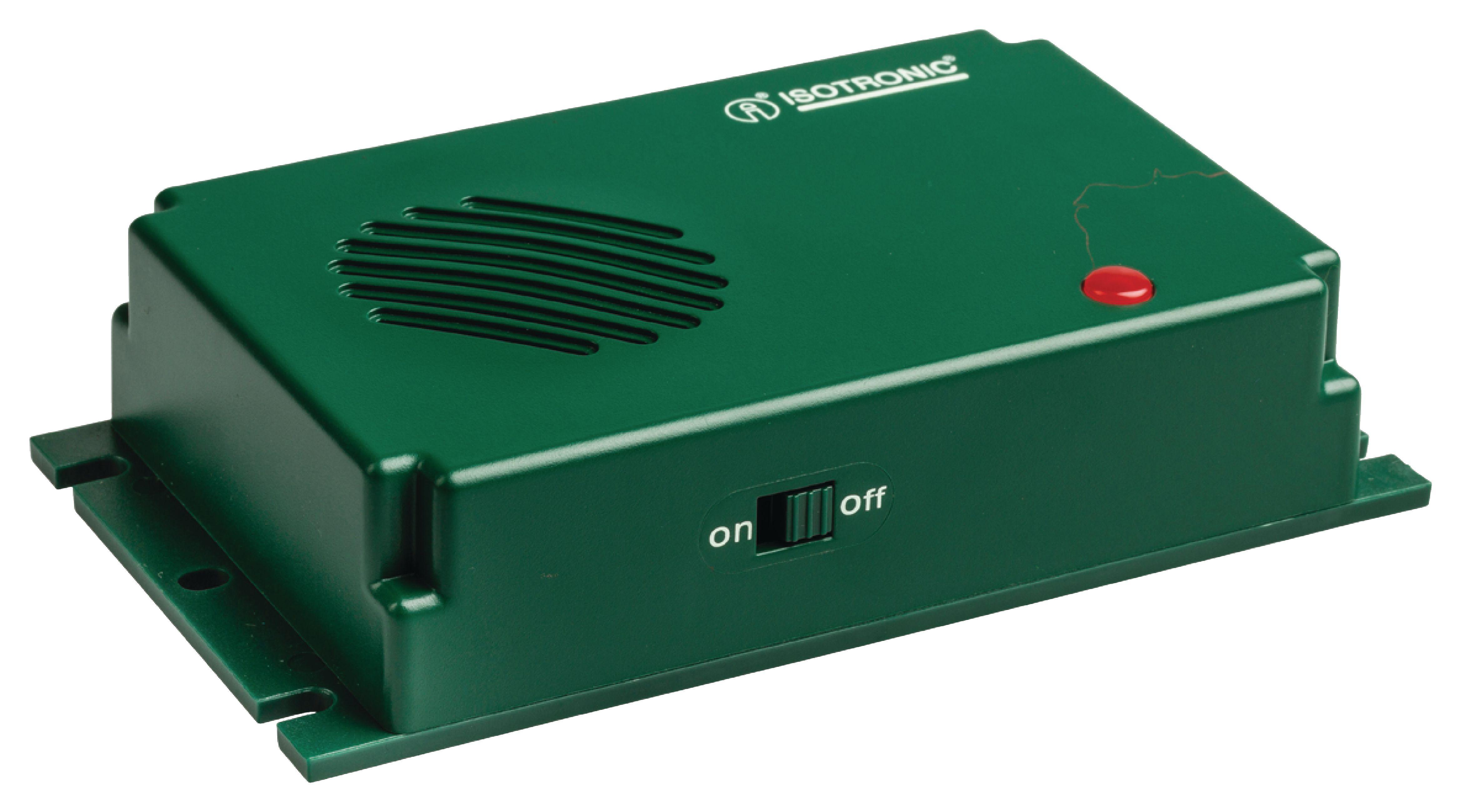 Odpuzovač psů a koček 18 - 32 kHz Isotronic 70626
