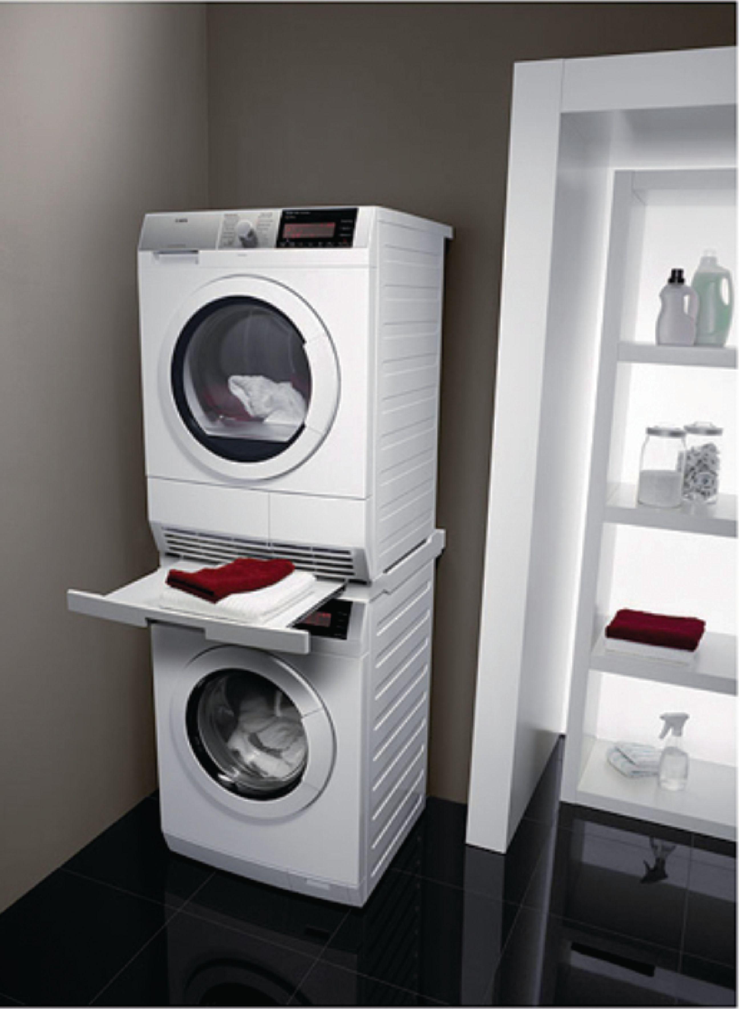 Stohovací sada pračka / sušička 60.5 cm AEG 9160931557