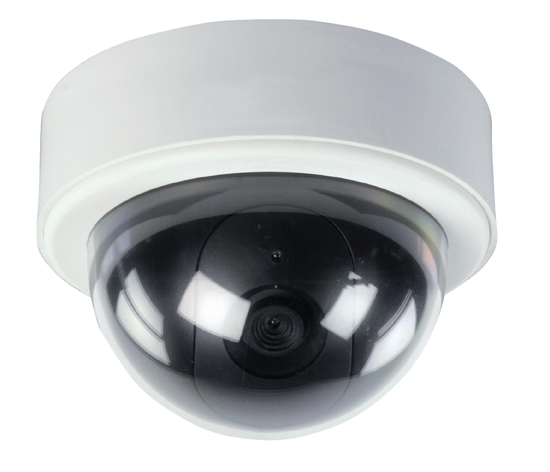 Atrapa venkovní bezpečnostní CCTV mini DOME kamery König SAS-DUMMYCAM65