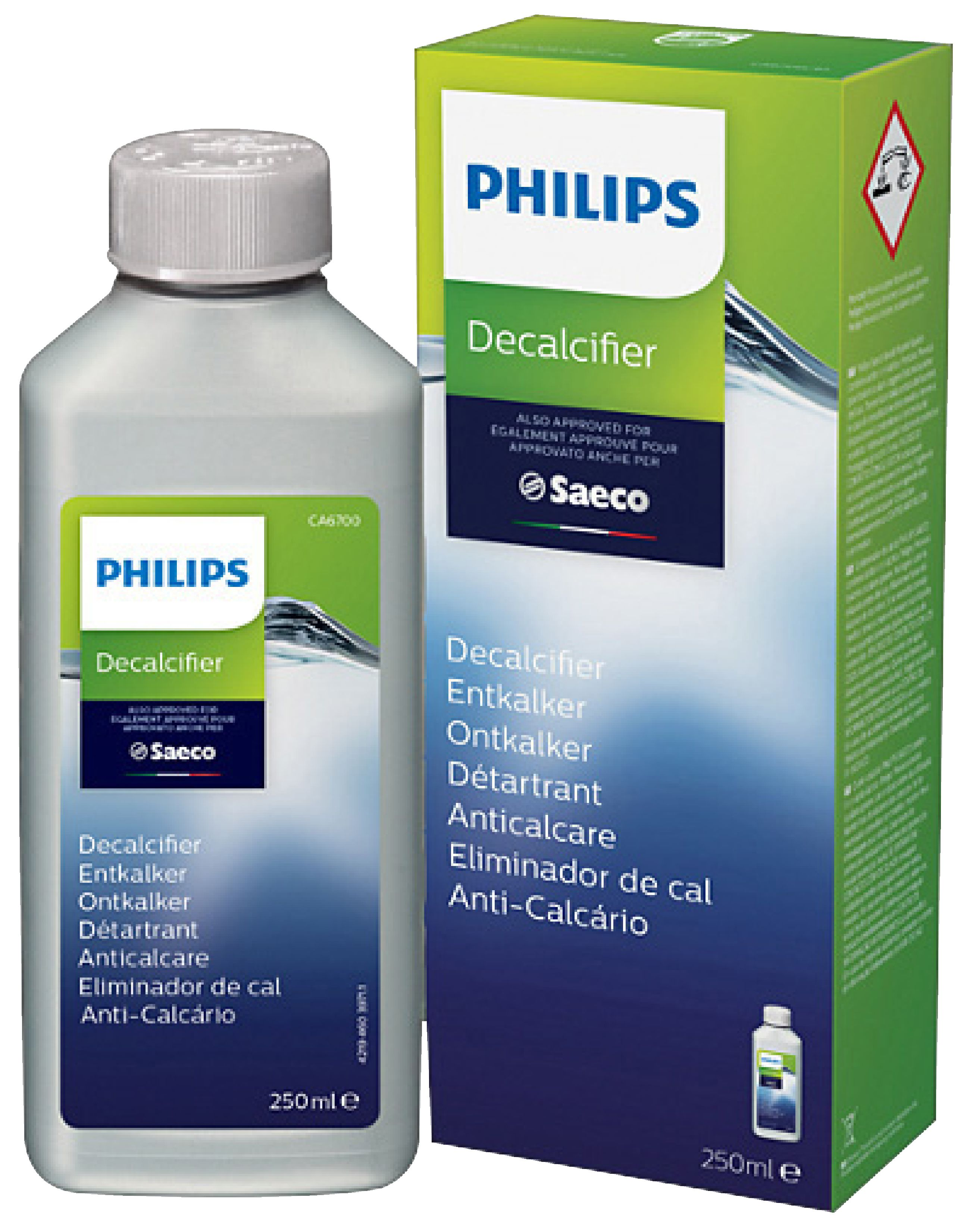 Odvápňovač pro espresso Saeco 250 ml Philips CA6700/10