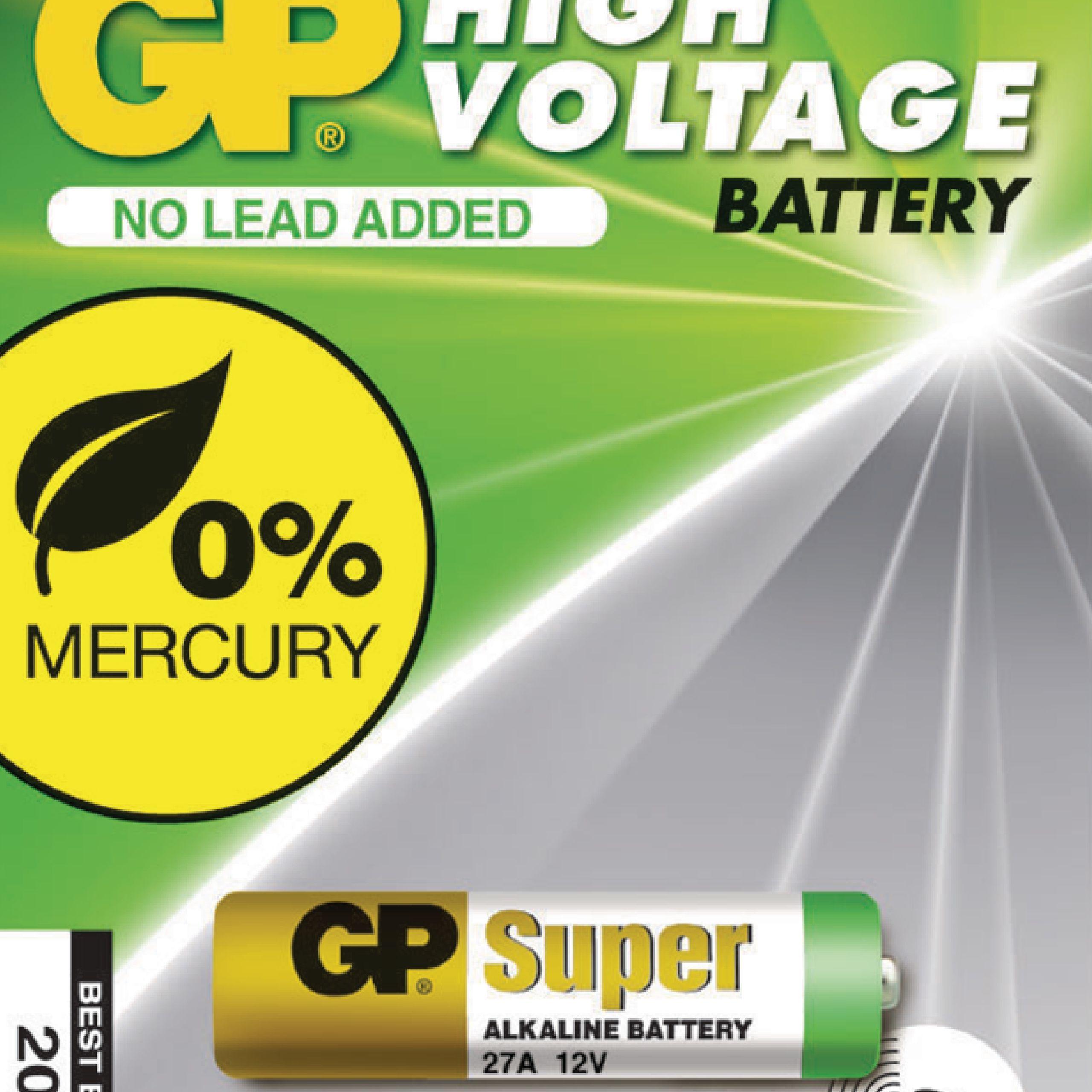 Alkalická baterie GP Super 27A 12 V, 1ks