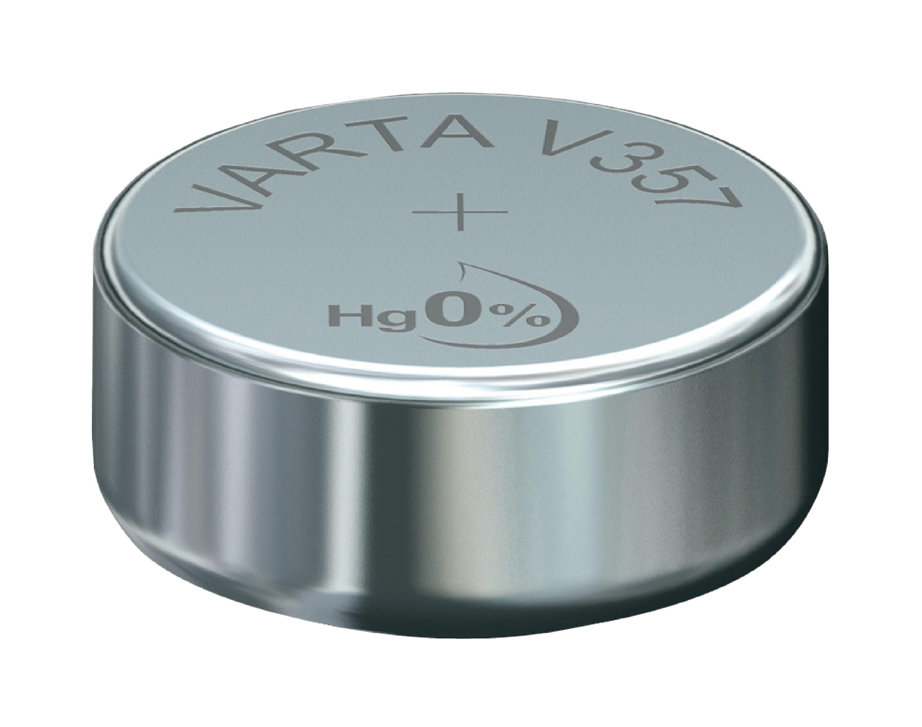 Stříbro-oxidová Baterie SR44 1.55 V 155 mAh 1-Balíček