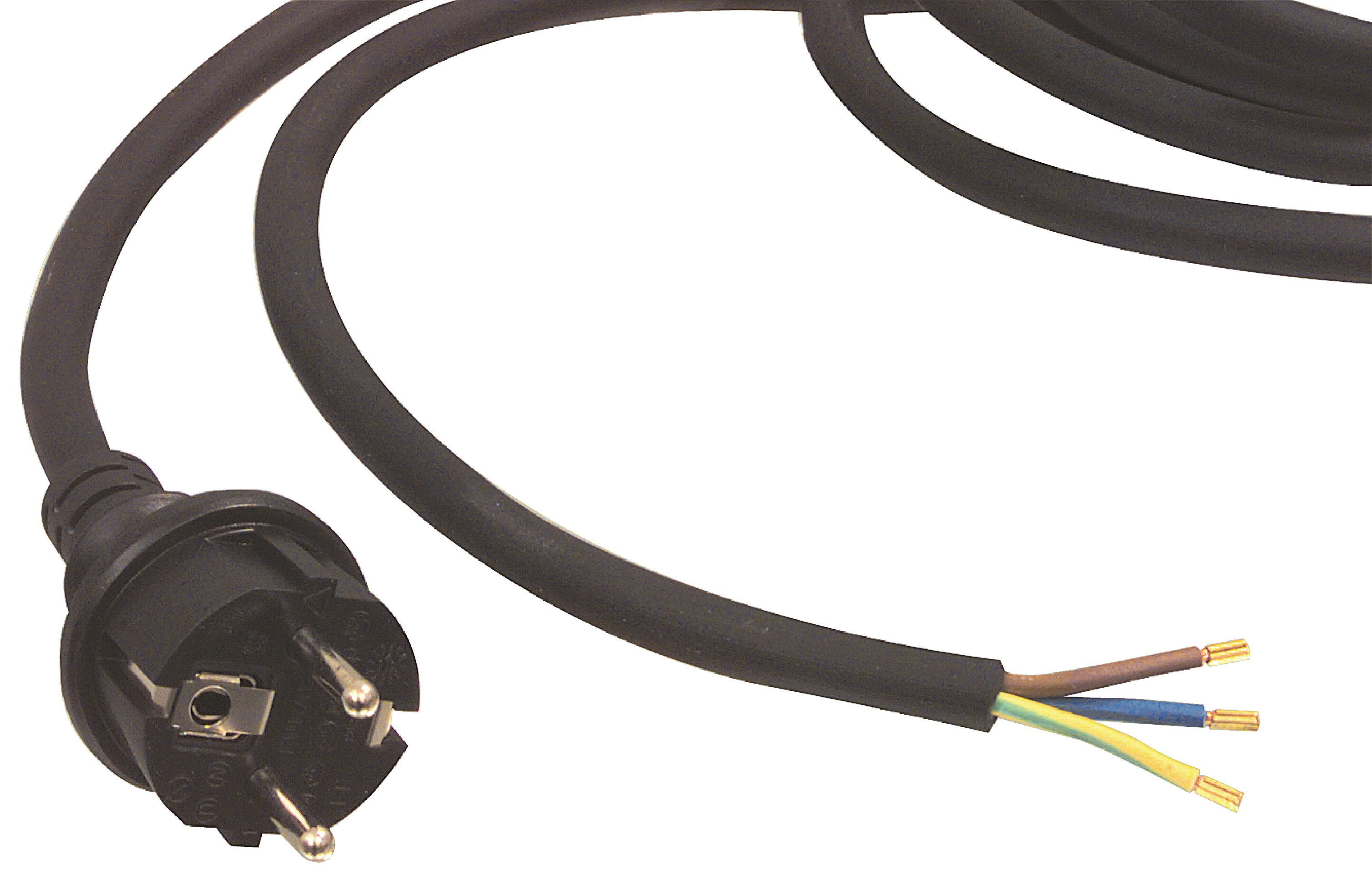 Napájecí flexo kabel neoprenový 3 x 1.5 mm 3.00 m W8-90003