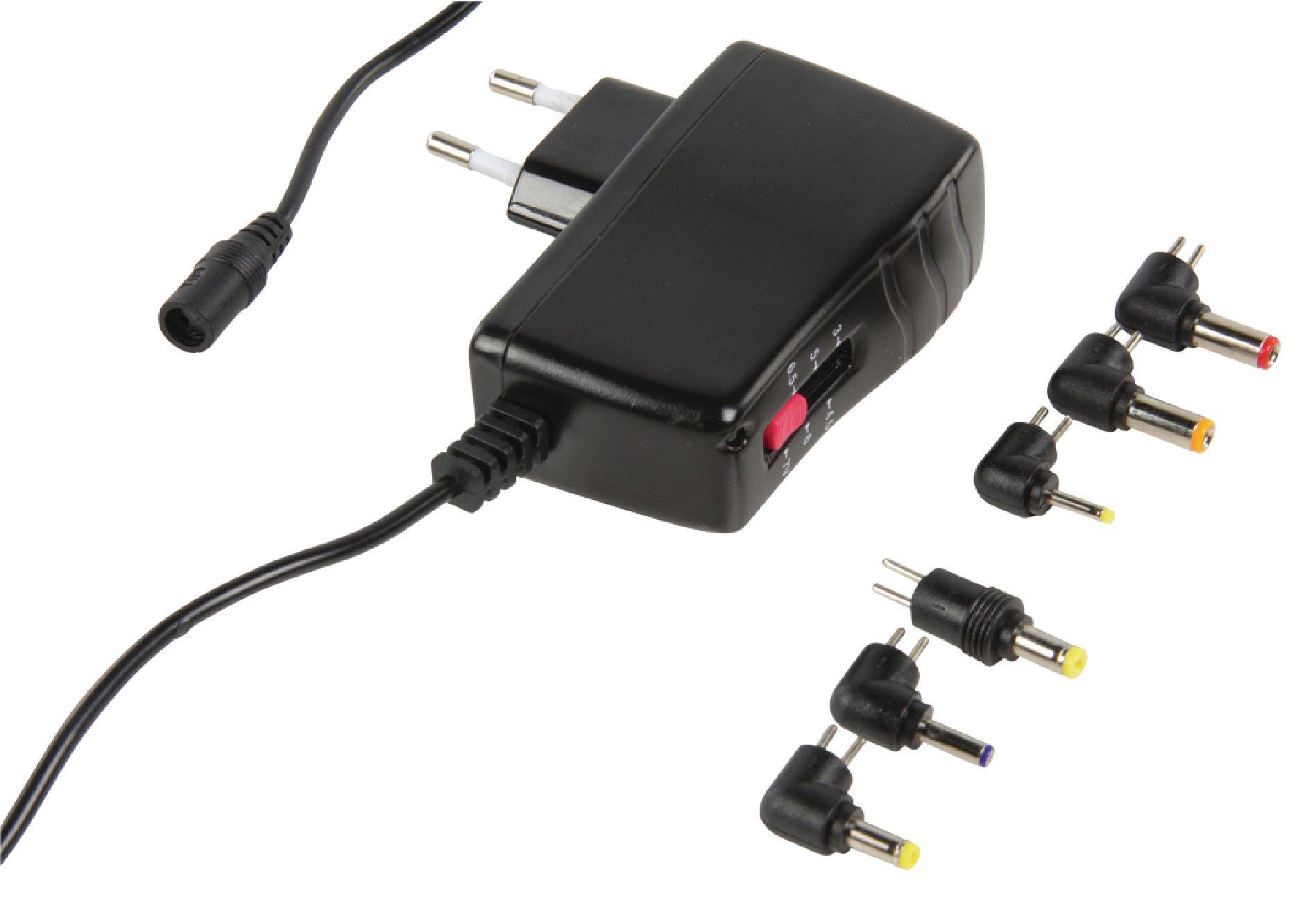 Univerzální napájecí adaptér 3-7.5V, 1.9-2.5A HQ P.SUP.DCAM2-H1