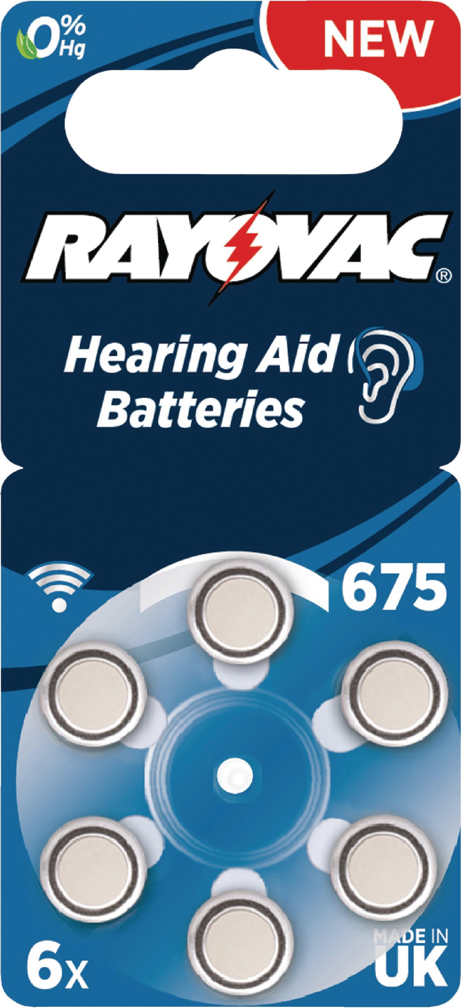 Zinkovzduchová Baterie PR44 1.4 V 6-Blistr