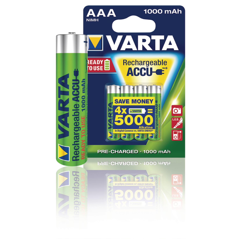 Nabíjecí baterie Varta NiMH AAA 1.2V 1000mAh - 2ks, VARTA-5703B