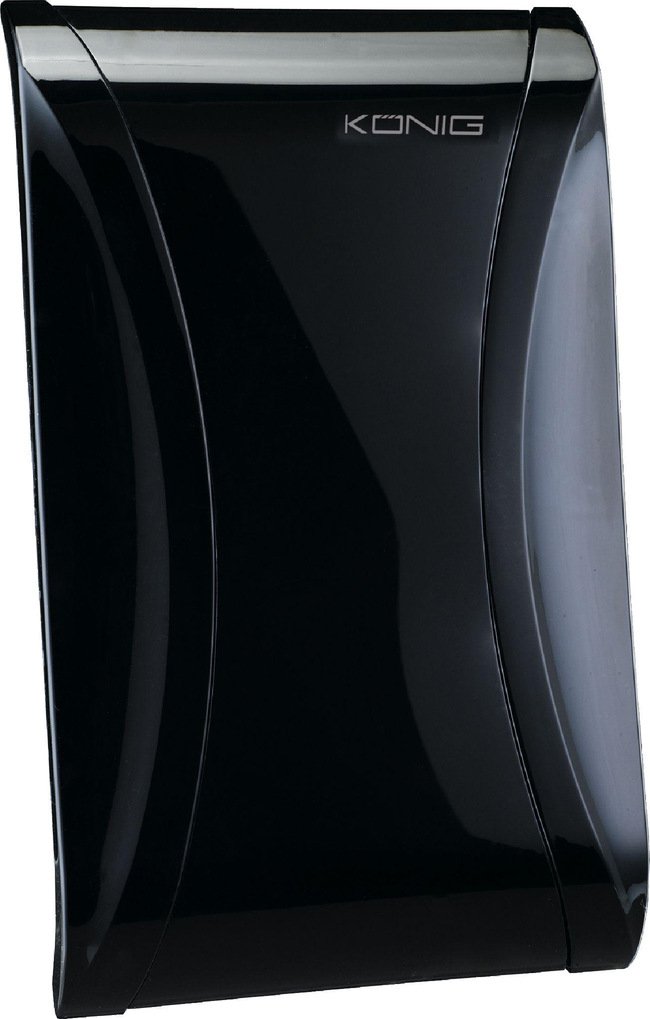 Anténa pokojová DVB-T/T2, DAB se zesilovačem 28 dB KN-DVBT-IN61L