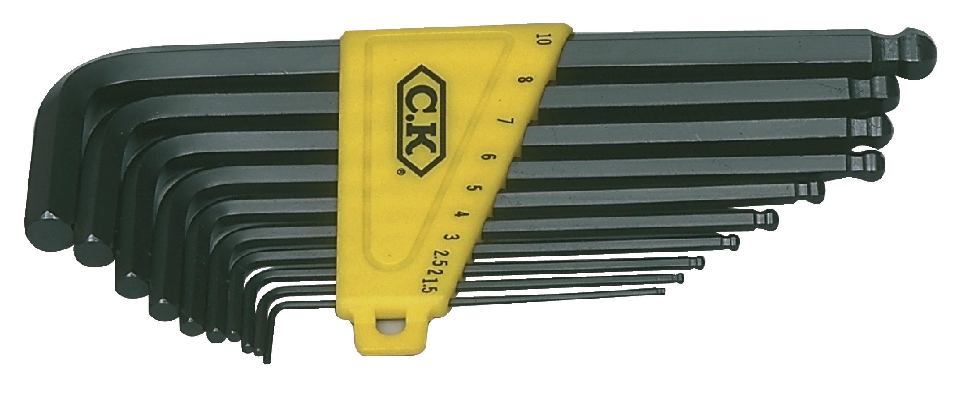 Sada imbus zástrčných klíčů, 10-dílná C.K. 4443M
