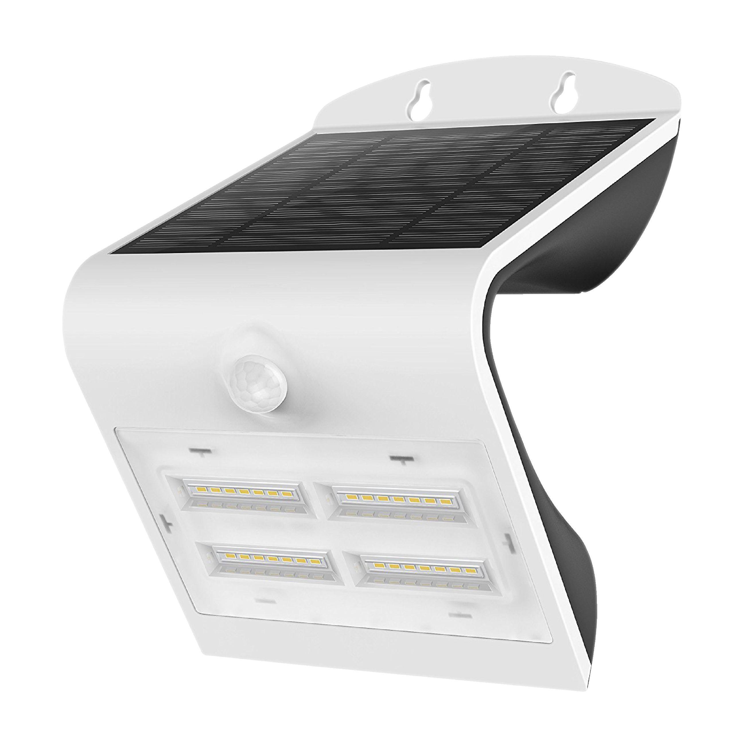 Venkovní LED solární nástěnné svítidlo 400 lm s PIR čidlem LED's Light LL300404