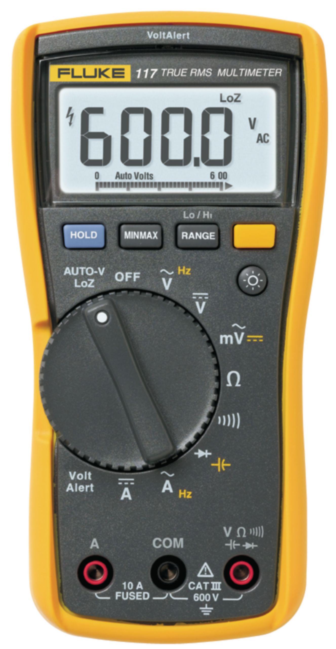 Digitální multimetr TrueRMS FLUKE 117