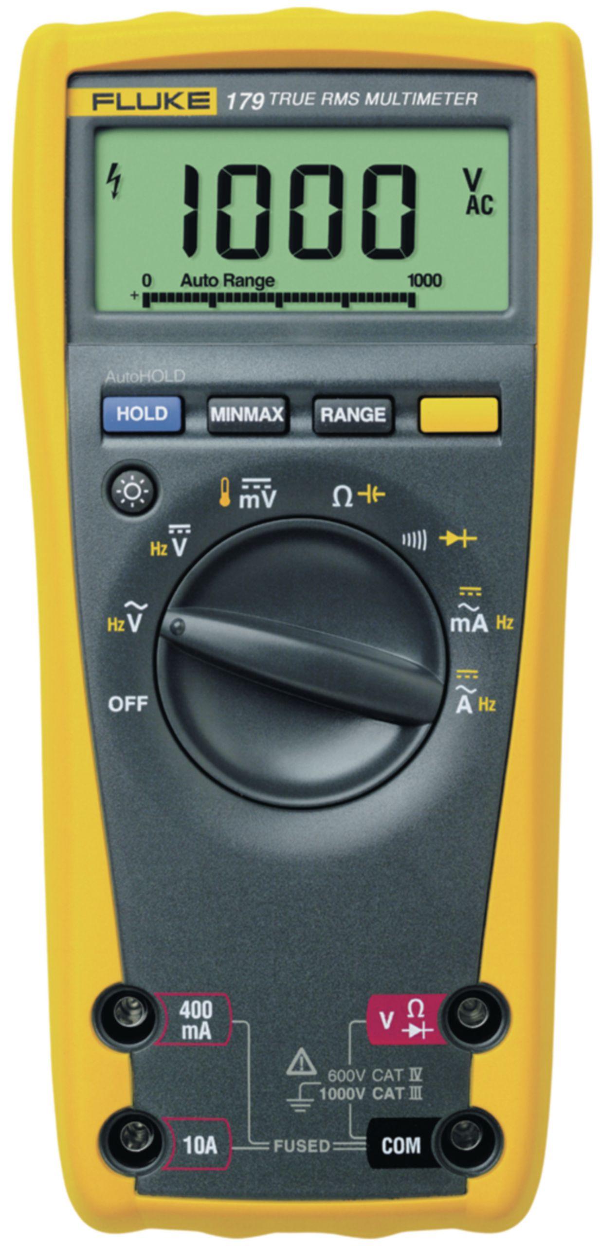 Digitální multimetr TrueRMS FLUKE 179