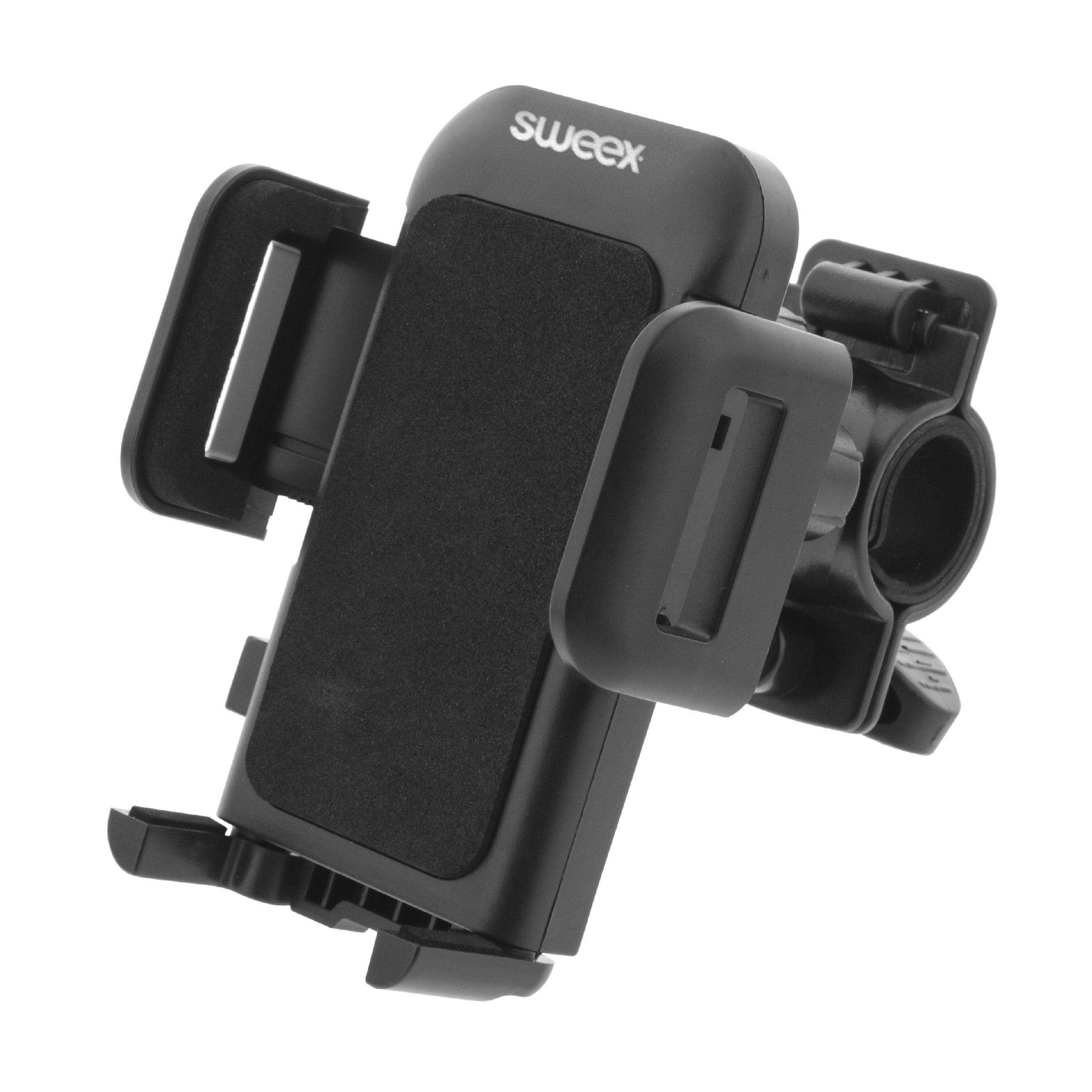 Sweex univerzální XL držák telefonu na jízdní kolo SWUSPBM100BK