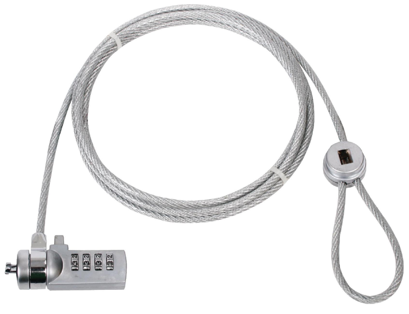 König lankový zámek k notebooku na číselný kód 1.8 m CMP-SAFE4
