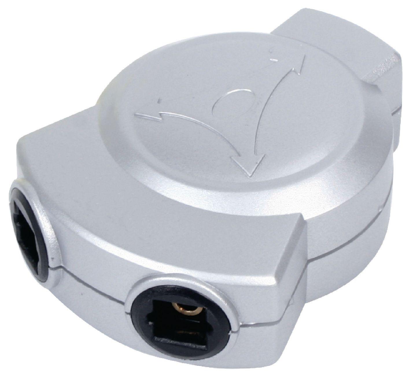 HQ digitální audio rozbočovač TosLink vstup na 2x TosLink výstupy HQSSOPTSPL1