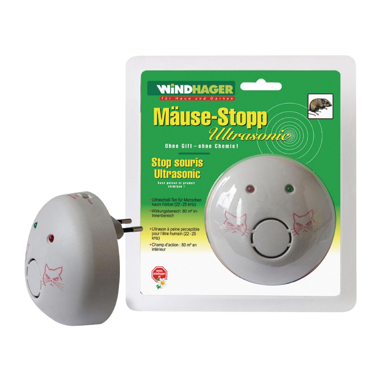Ultrazvukový odpuzovač myší 22/25 kHz 9 W Windhager 05034