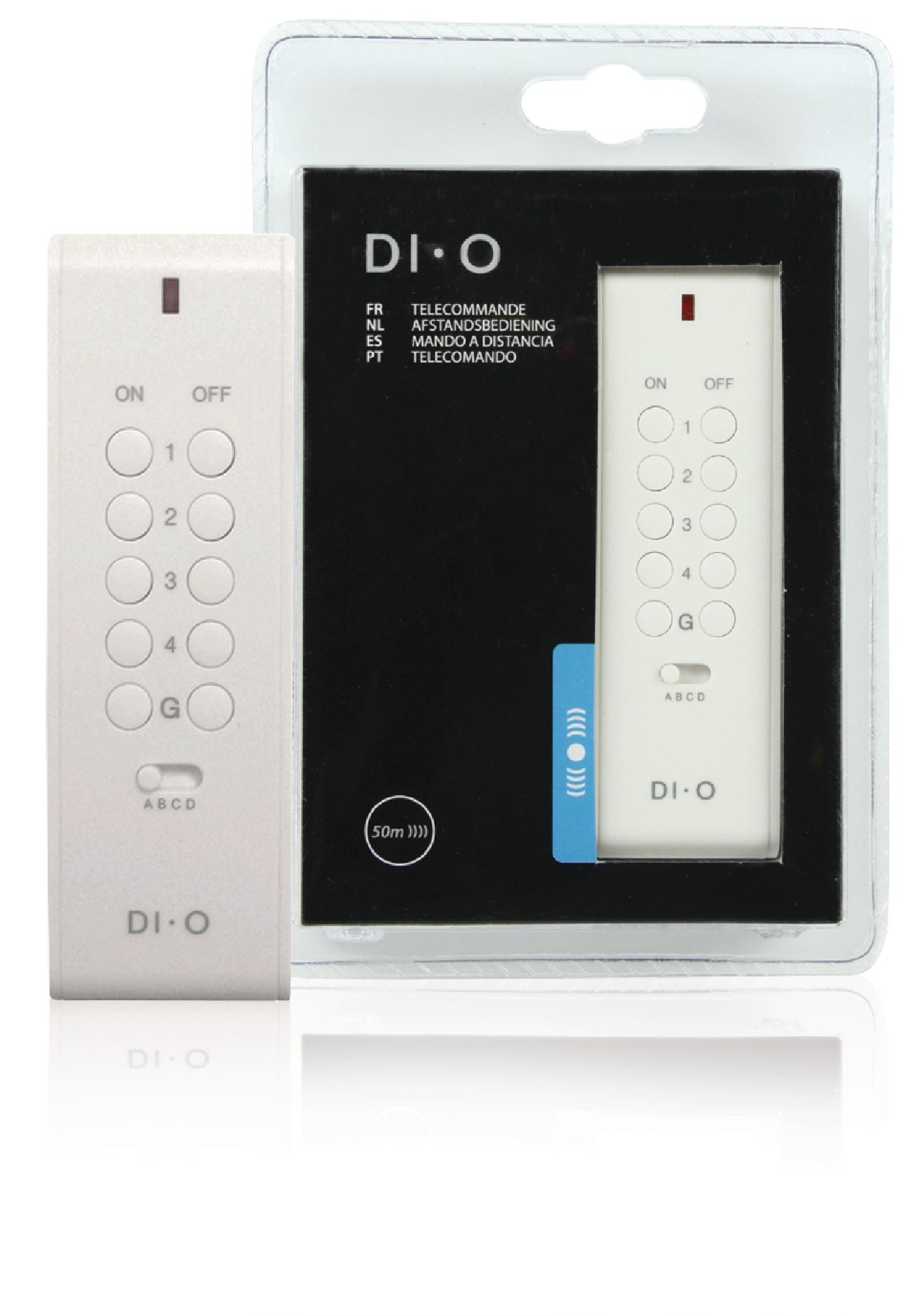 16 kanálový dálkový ovladač DIO-DOMO35