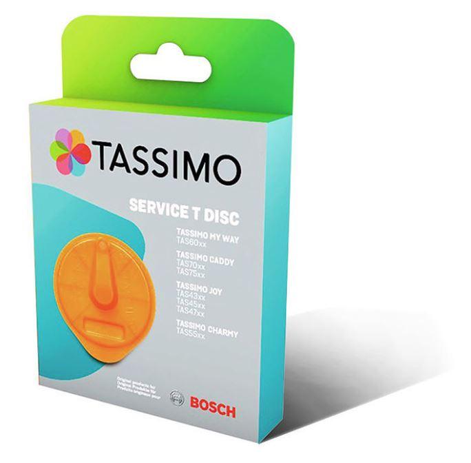 Servisní T-Disk pro kávovar Tassimo Bosh 17001491