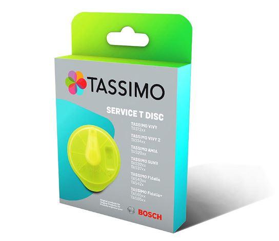Servisní T-Disk pro kávovar Tassimo Bosh 17001490