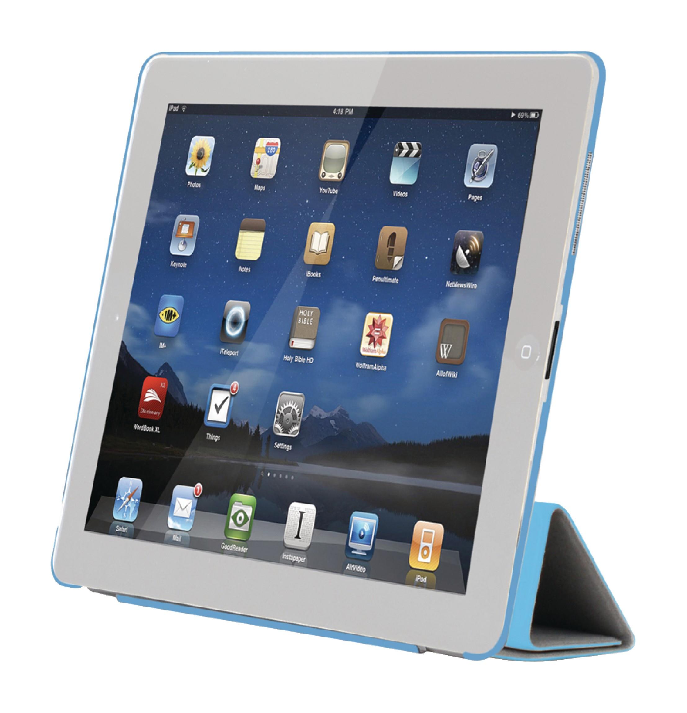 Sweex Smart pouzdro na Apple iPad 4 modré, SA627