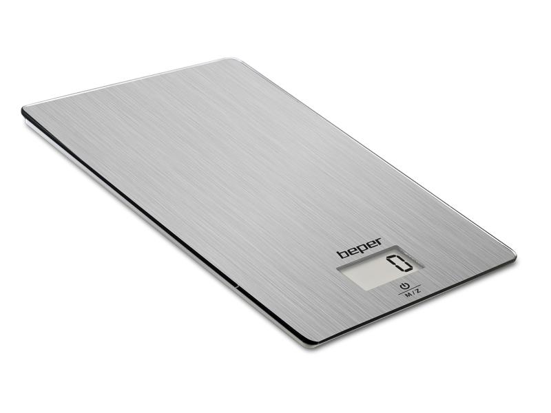 BEPER 90131 kuchyňská elektronická váha, stříbrná