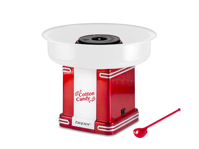 BEPER 90396-Y výrobník cukrové vaty, 500W