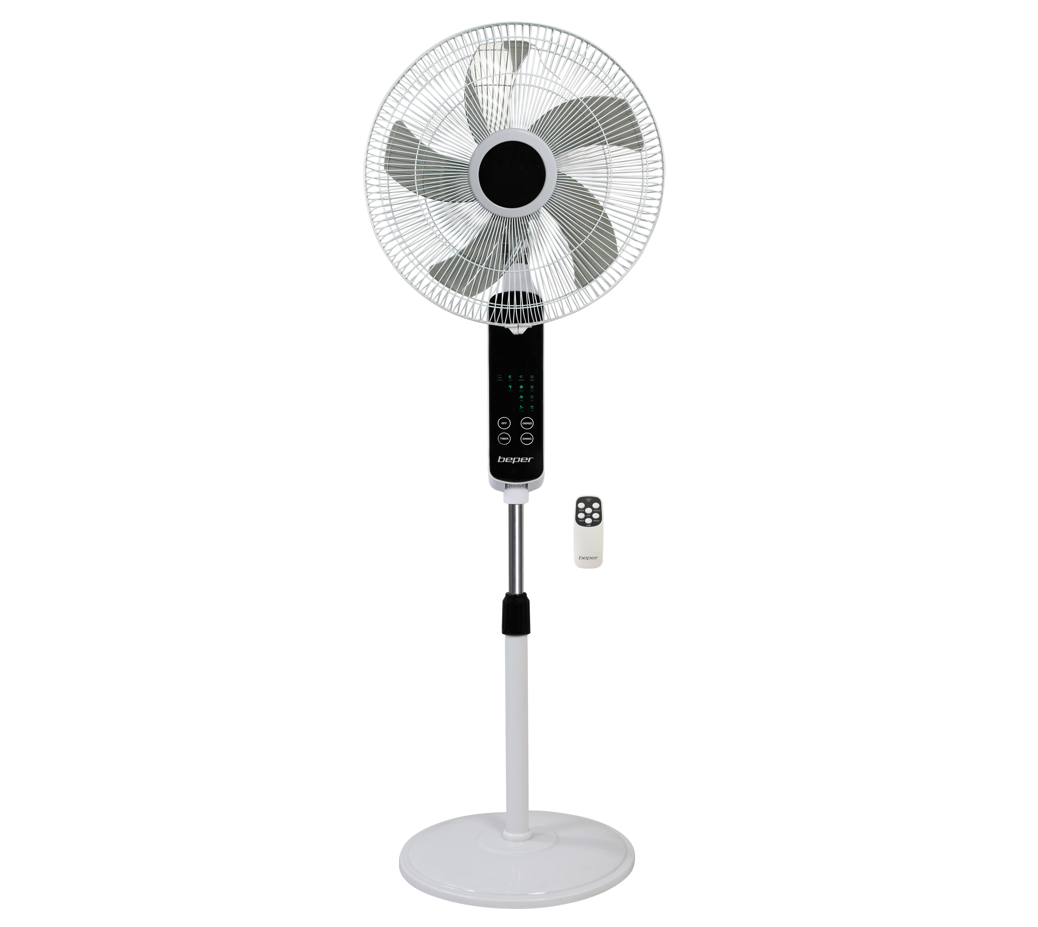 BEPER VE112 stojanový ventilátor s dotykovým displejem, 55W