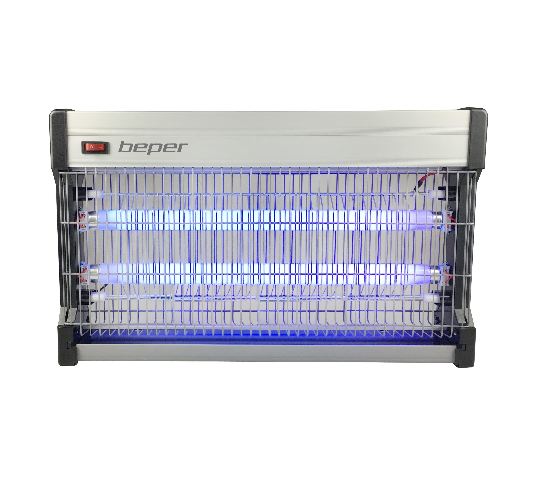 BEPER VE701 lapač hmyzu elektrický, 100m2, 2xUV-A zářivka