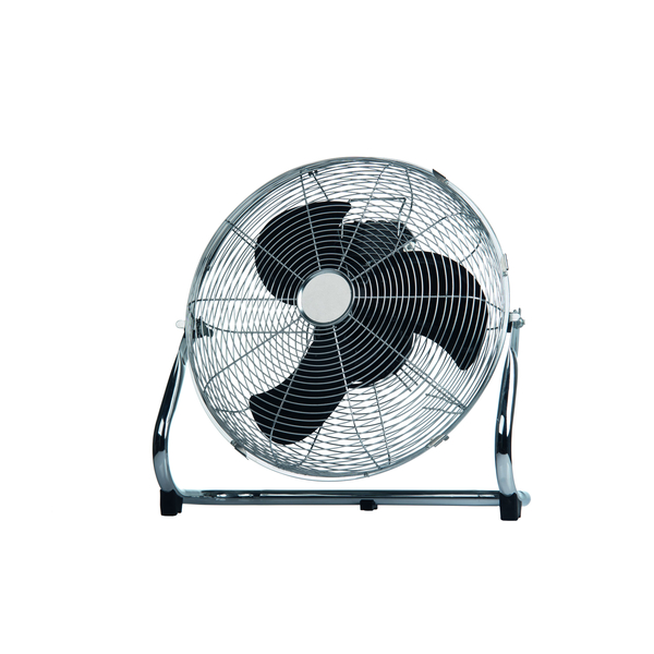Ventilátor podlahový chrom 40cm, 100W